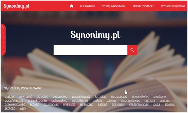 Słownik synonimów Synonimy.pl