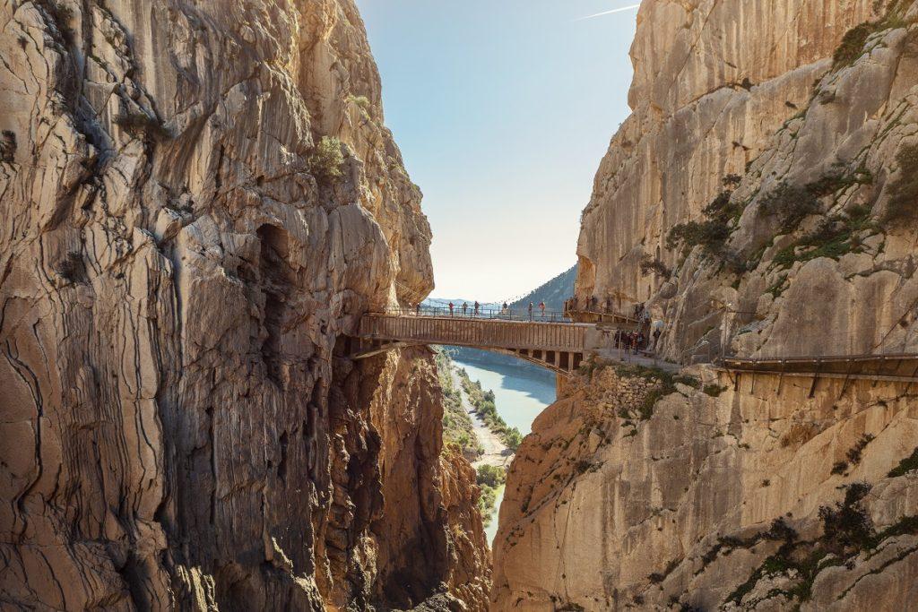 Most w Caminito del rey